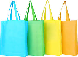 colourful non woven bag