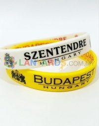 silk screen wristbands