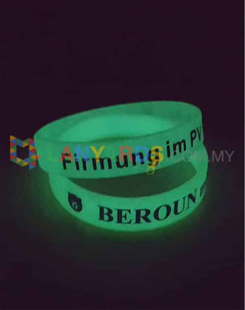 Glow in Dark Wristband