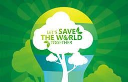 Green Idea Go Green