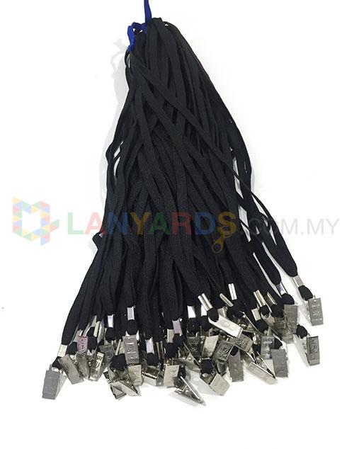 cheap black lanyard