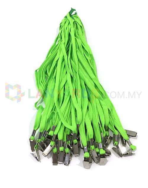 cheap green lanyard