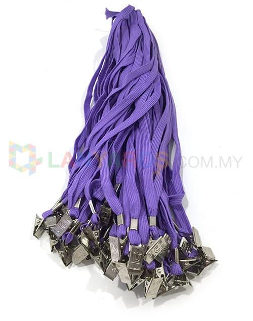 cheap purple lanyard