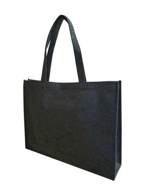 felt bag - black