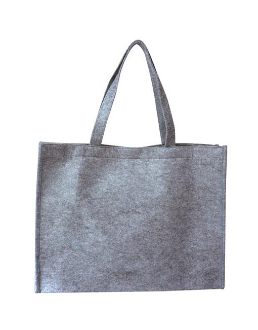 felt bag - grey