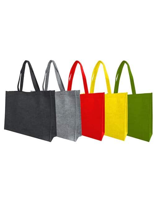 felt bag - colours