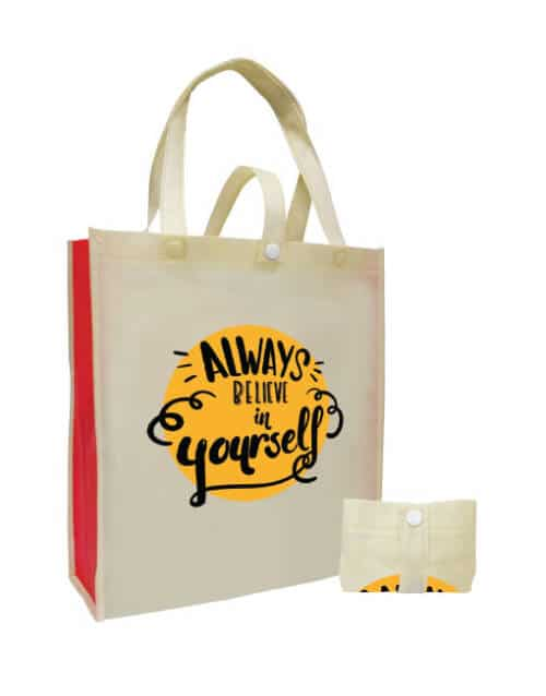 CN 23 - Foldable Non Woven Bag with Strap