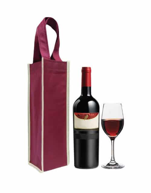 CN 24 - Single Bottle Wine Bag